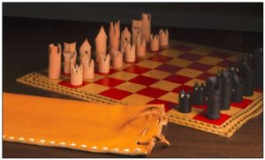 LeatherChessSet